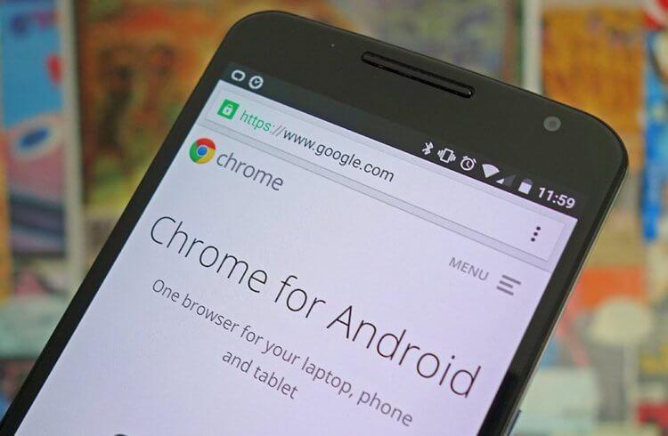 Google научит Chrome для Android определять медленные сайты