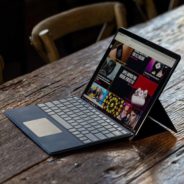 Внешне Surface Pro X на процессоре ARM выглядит очень аккуратно