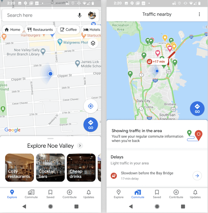 Google представила масштабное обновление Google Maps