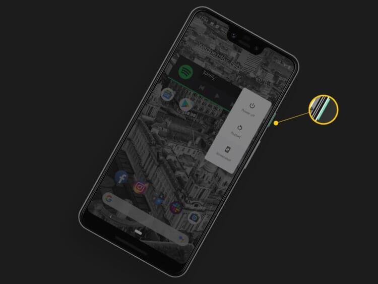 Google добавила новые функции кнопке включения в Android 11