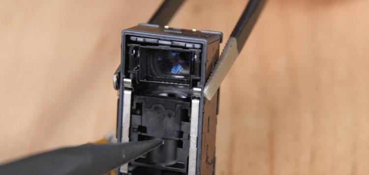 Перископная камера Galaxy S20 Ultra