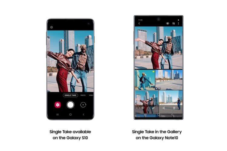 Samsung выпустила обновление для Galaxy S10 с функциями Galaxy S20