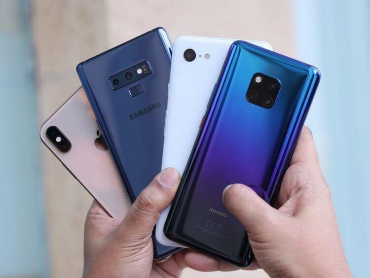 Чем Huawei отличается от Samsung и при чем тут Apple?