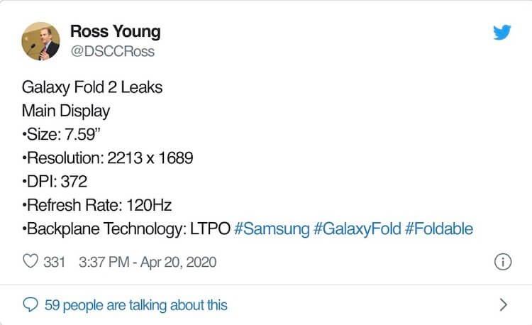 Samsung Galaxy Fold 2 будет лучше, чем мы думали