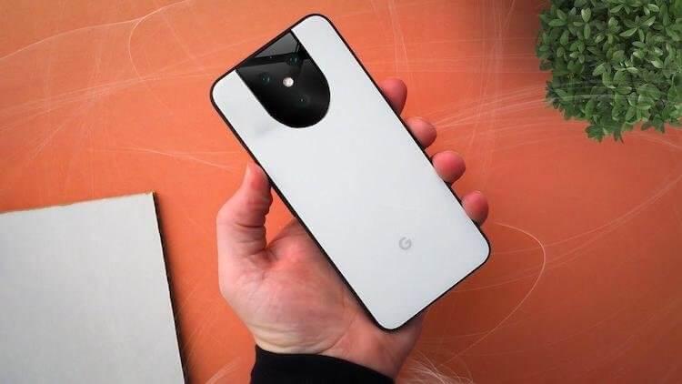Скоро можно будет купить Google Pixel 5 в таком исполнении
