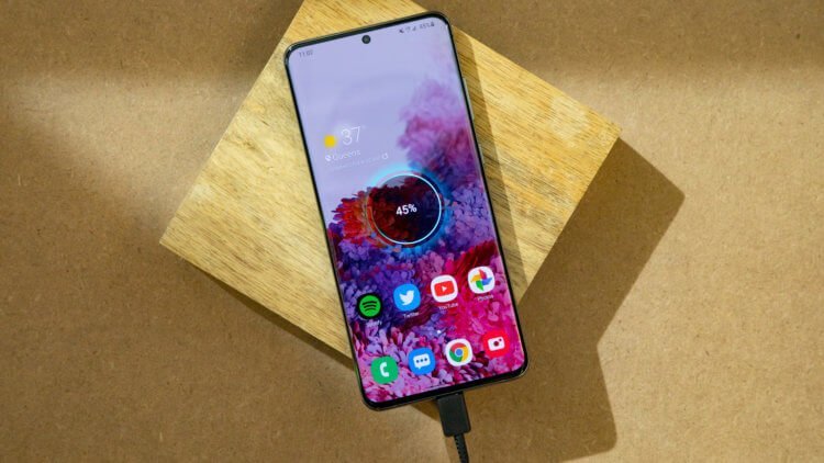 Samsung увеличила время зарядки своих смартфонов в последнем обновлении