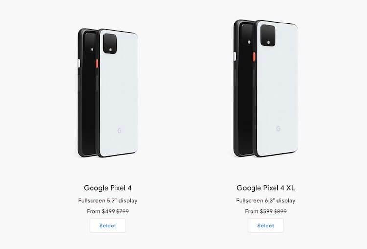 Google снизила цену Pixel 4 почти в два раза. Что случилось?