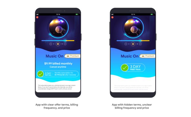 Как Google изменит подписки в Google Play