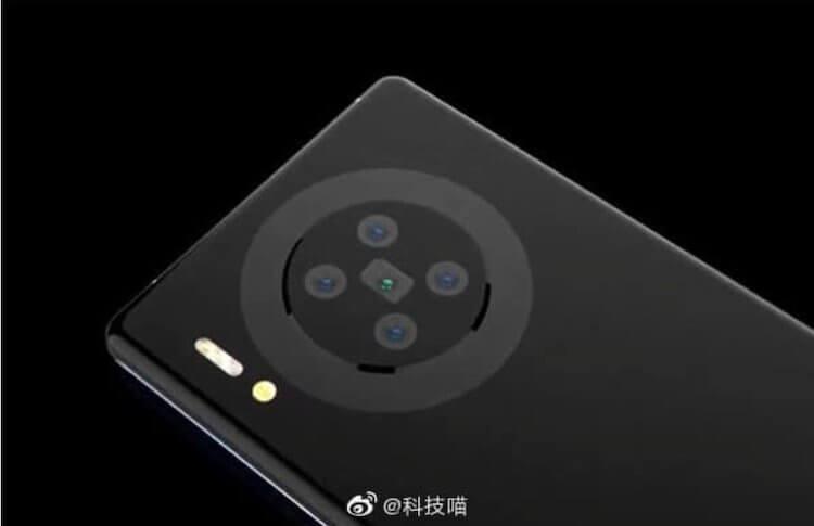 Китайцы показали концепт Huawei Mate 40. Такой телефон захотят многие