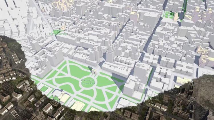Google Maps станет основой для игр под Android