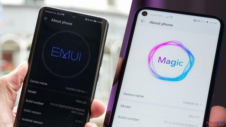 Huawei объявила о глобальном выпуске EMUI 10.1 и Magic UI 3.1