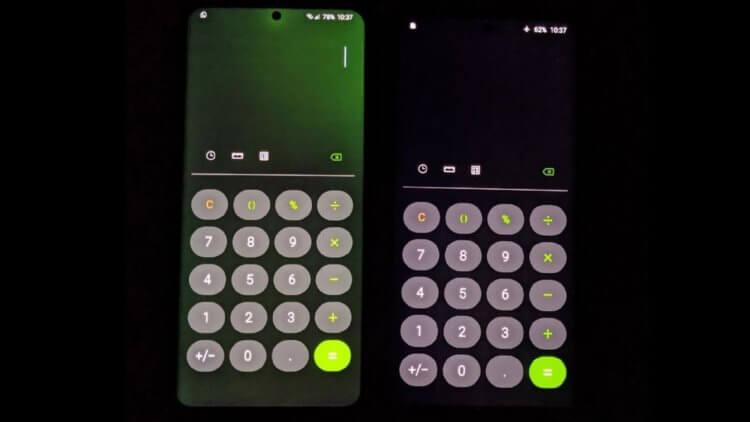 Экраны смартфонов Samsung начали массово зеленеть. Что делать