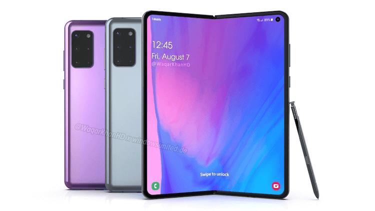 Новое видео от Samsung дает представление о грядущем складном телефоне