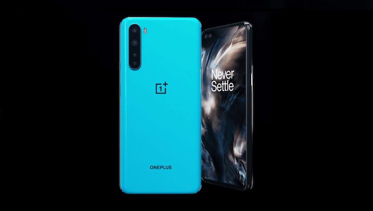 OnePlus Nord синий