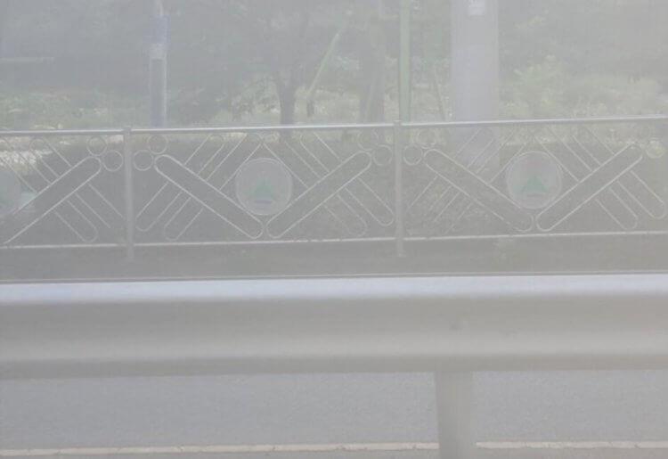 Фотография в тумане