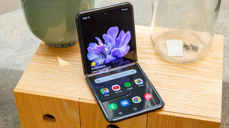 Samsung доказала, что выпустит недорогой складной смартфон