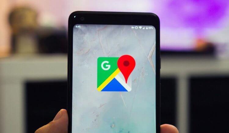 Приложение Google Maps