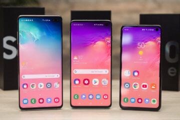 Смартфоны Galaxy S10