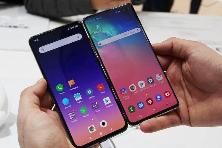 Xiaomi и Samsung