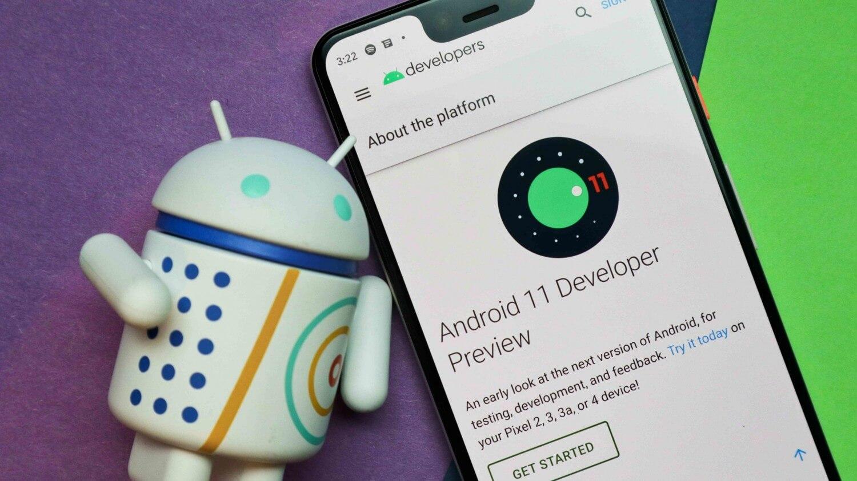 Бета-тест Android 11