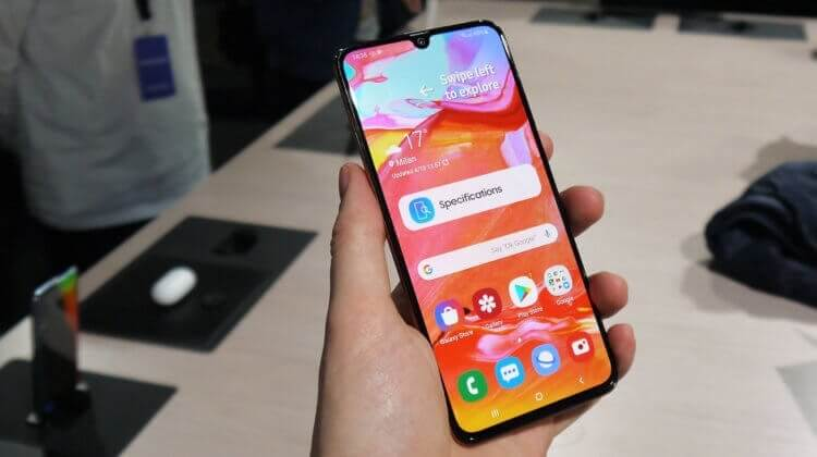 Android телефон