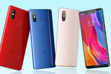 Цветные смартфоны