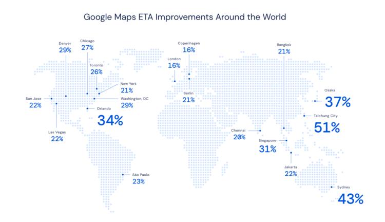 Google рассказала, как коронавирус повлиял на Google Maps