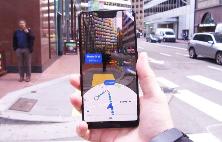 Google добавила в Google Maps поиск людей в дополненной реальности