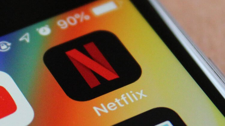 Приложение Netflix
