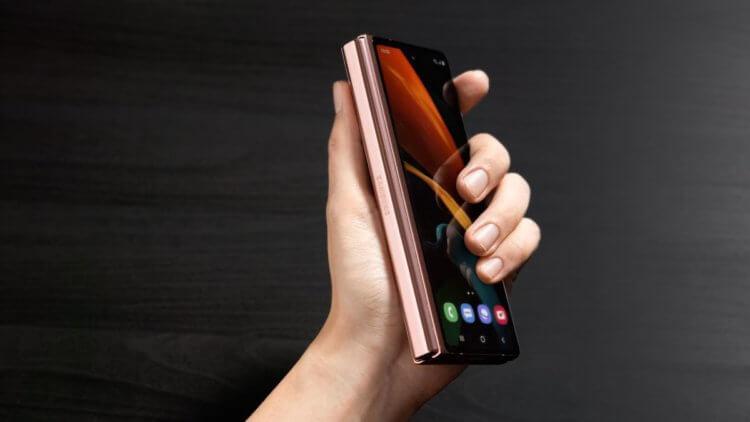 Дисплей Galaxy Z Fold 2