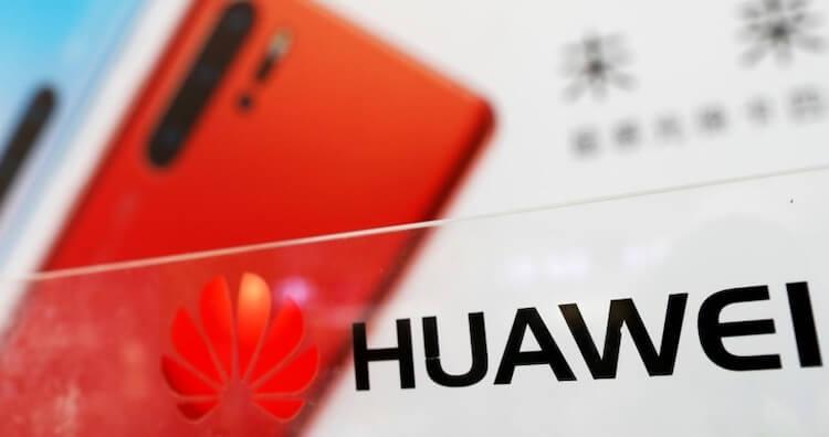 красный Huawei