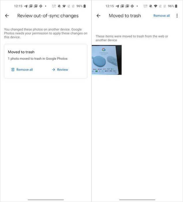 Синхронизация фото на Android