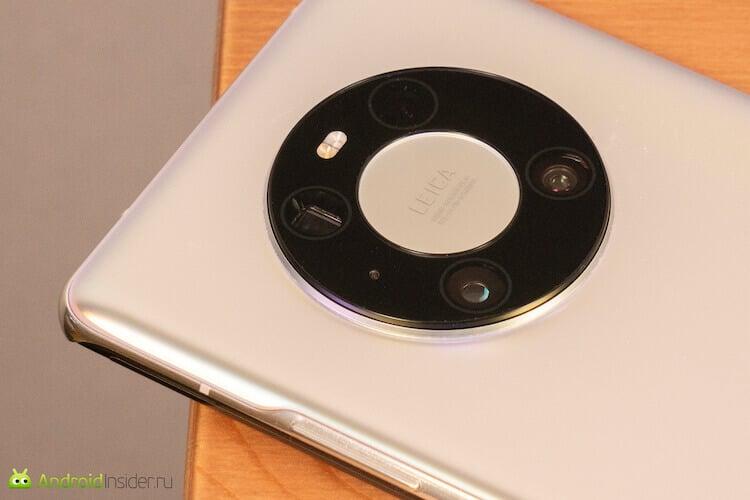 Камера Huawei Mate 40 Pro