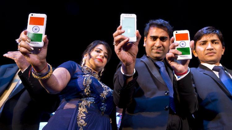 Смартфоны в Индии