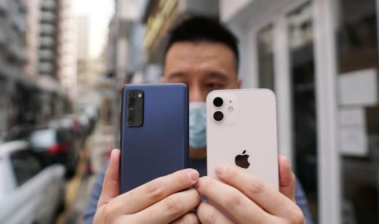 Сравнение Android и iPhone