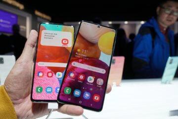 Galaxy A51 vs A71