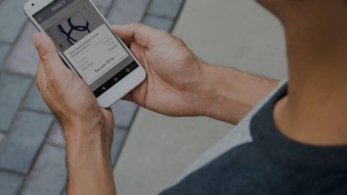 Google Pay в интернете