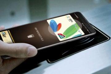 Бесконтактная оплата Huawei
