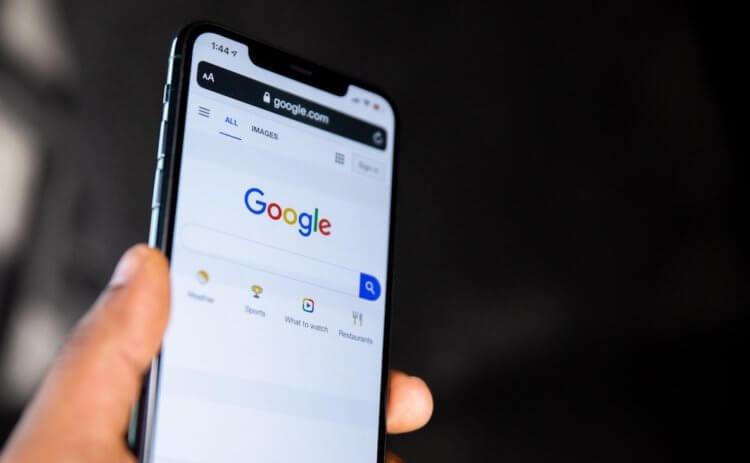 Google Поиск на iPhone