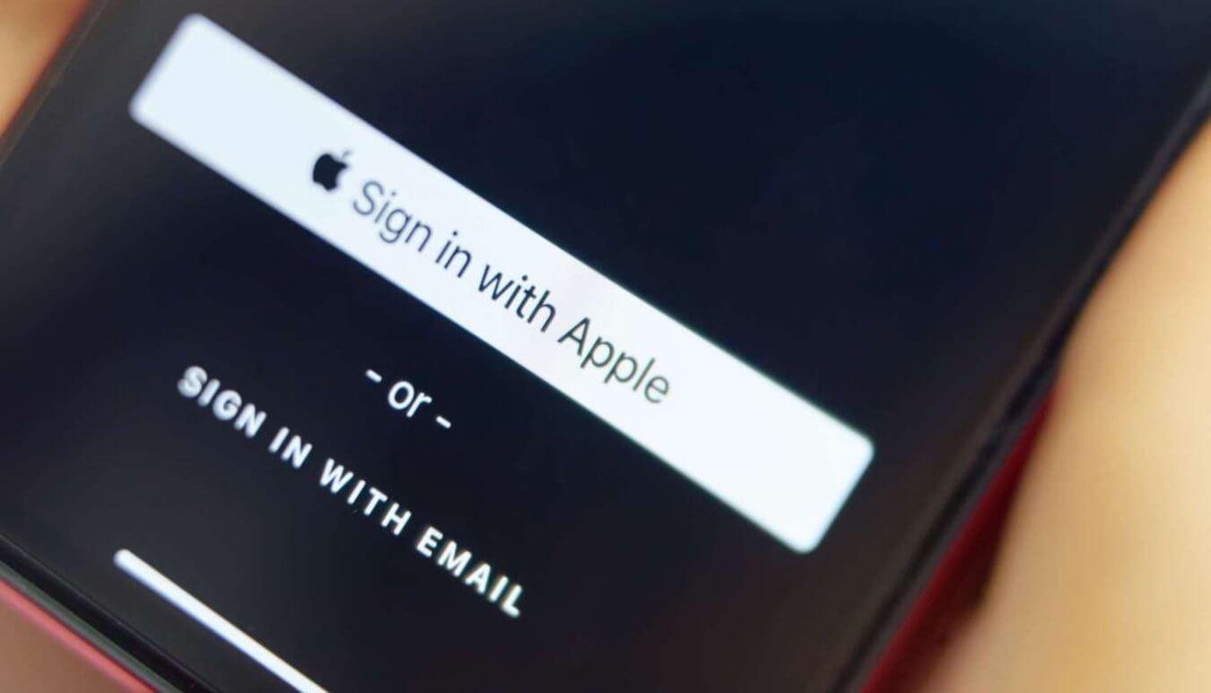 Войти с Apple