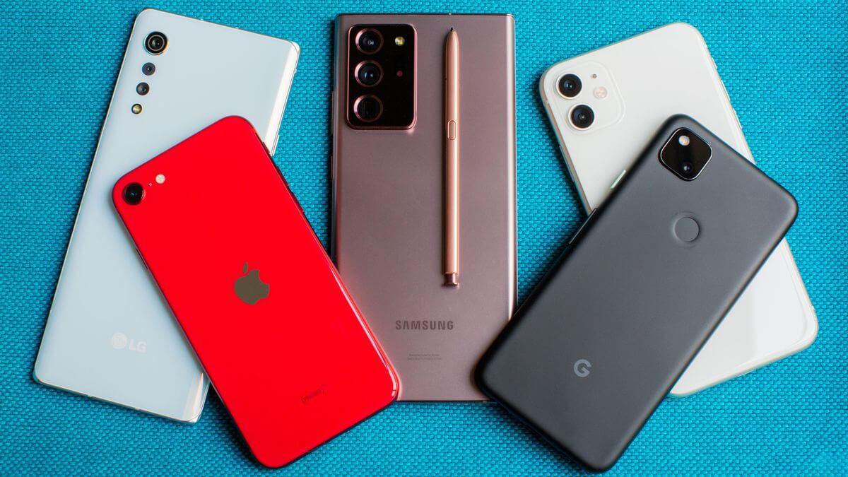Смартфоны 2021