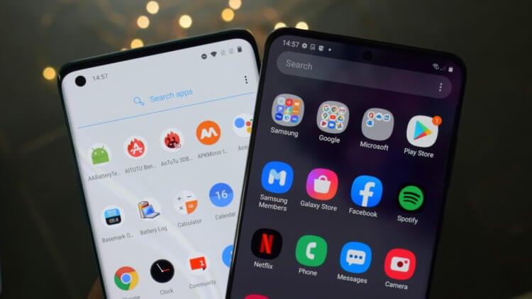 Сравнение Android