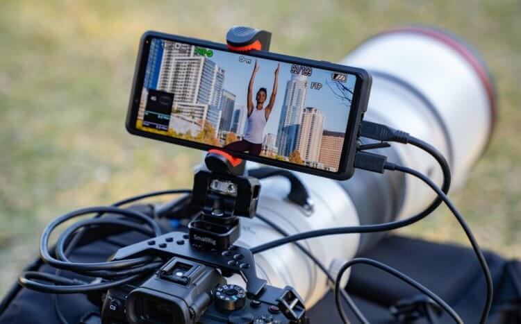 Внешний монитор для камеры