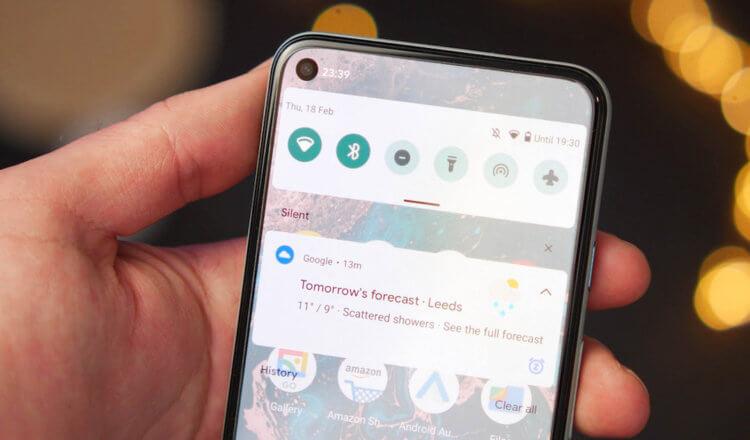 Уведомления Android