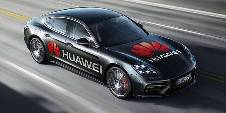 Huawei машина