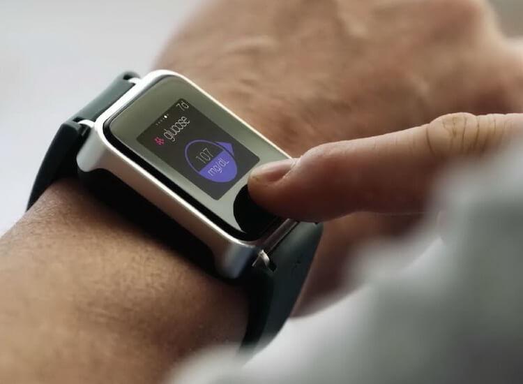 часы с измерением сахара