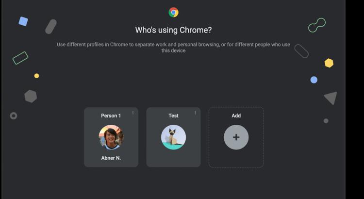 Профили в Chrome