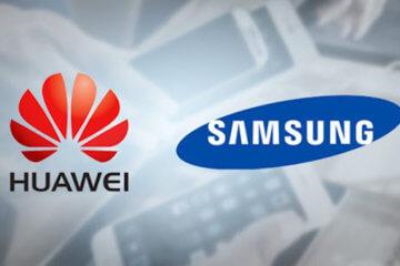 Samsung и Huawei