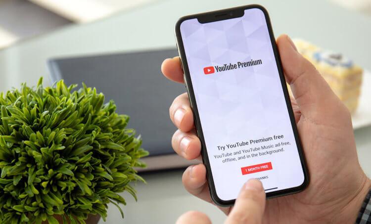 Как подписаться на YouTube Premium со скидкой за 130 рублей