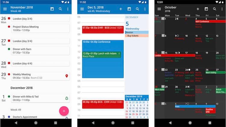 Лучшие приложения для организации дня
